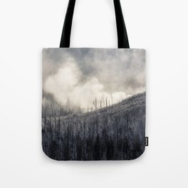 Steamy Forest -  Yellowstone National Park Tote Bag