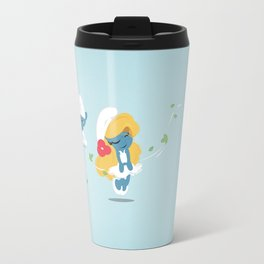 The Smurf Travel Mug