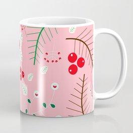 mistletoe Pink Coffee Mug