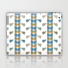 Leaves & Birds Pattern Laptop & iPad Skin