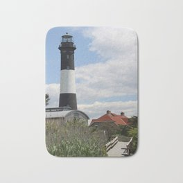 Walkway To Fire Island Lighthouse Bath Mat