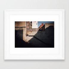 Merchants Row Framed Art Print