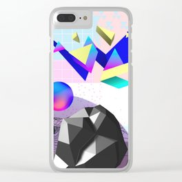 Astral Plane Clear iPhone Case