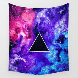 Black Hole Trinity Wall Tapestry