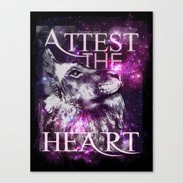 Galaxy Lion Canvas Print