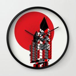 Brutalist Japan, The Nakagin Capsule Tower Wall Clock