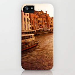 Grande Canal at Dusk iPhone Case