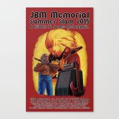 JBM Memorial Summer Slam 2015 Canvas Print