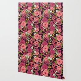 Jungle Pattern 001 Wallpaper