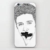 elvis presley iPhone & iPod Skins featuring ELVIS PRESLEY by Only Vector Store - Allan Rodrigo