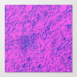 Textured Pink And Blue Canvas Print