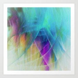 Filmy Things Art Print
