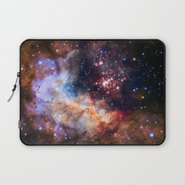 A star cluster Westerlund 2 in the Milky Way galaxy (NASA/ESA/Hubble) Laptop Sleeve