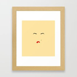 fleek Framed Art Print