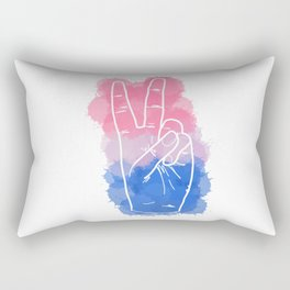 Bisexual Pride Rectangular Pillow