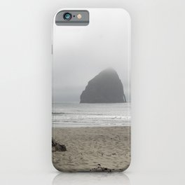 Haystack Rock At Cannon Beach iPhone Case