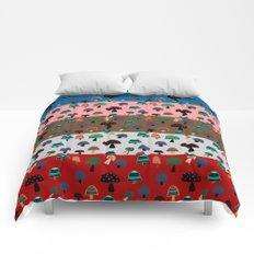 Mushroom patchwork Comforters