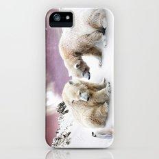 Polar Bears and Penguin Slim Case iPhone (5, 5s)