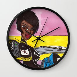 Fox One Version 2 Wall Clock