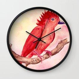 Punk Bird Wall Clock