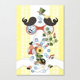 恵みの鼻水(リメイク)/Runny nose of grace (remake) Canvas Print