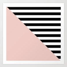 Diagonal quartzo Art Print