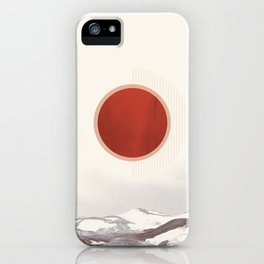 Vintage Iceland iPhone Case