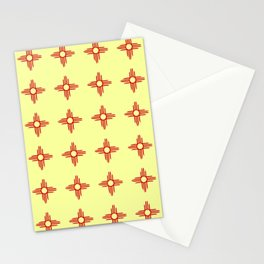 flag of new mexico hand drawn 6 Stationery Cards