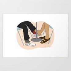 YUNG LUV Art Print