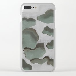 Gray Sky Clear iPhone Case