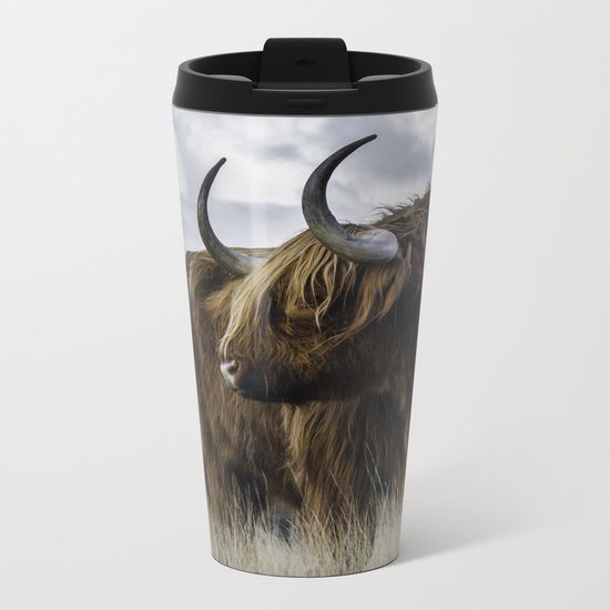 Highlander 3 Metal Travel Mug