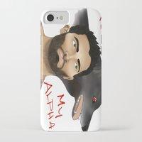 derek hale iPhone & iPod Cases featuring Derek Hale - Oh Alpha, my Alpha by LittleMagicFox