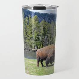 Yellowstone Bison Travel Mug