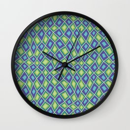 Diamonds are Forever-Jardin Colors Wall Clock