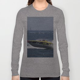 Powerboat Racing Long Sleeve T-shirt