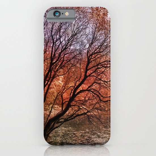 Mad colors of Autumn iPhone & iPod Case