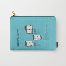 Buchbinden – Merkmale Broschur und Buch (in German) Carry-All Pouch