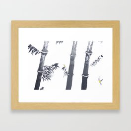 Chinese painting Framed Art Print