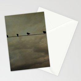 Storm birds Stationery Cards