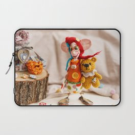 Teddy Bear Doll Laptop Sleeve