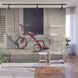 Old children's bike Wall Mural