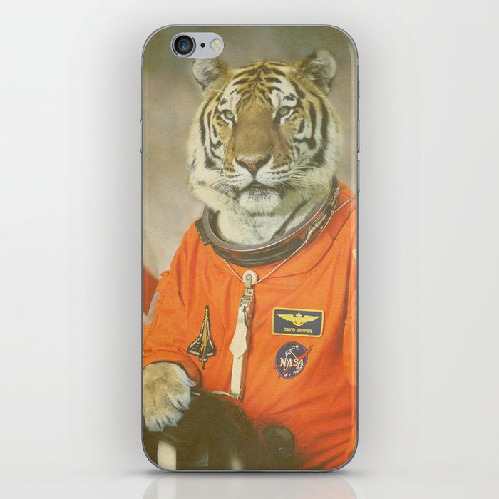 Moon Tiger  iPhone Skin