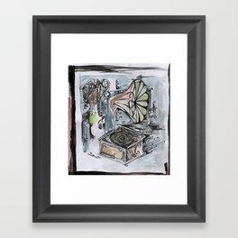 phonographic Framed Art Print