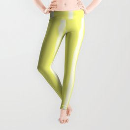 Butter Vertical Brush Strokes Leggings