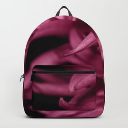 Dahliare red flower Backpack