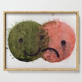 Happy/ Sad Venn Diagram  Serving Tray