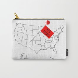 Knob Pin New Mexico Carry-All Pouch