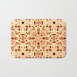 Flaming Chaos 9 Bath Mat