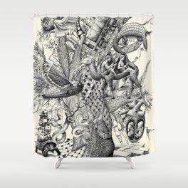Tree of Wonders Shower Curtain