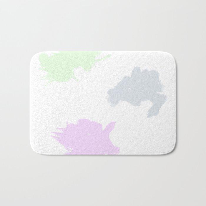 Pastel Palette Bath Mat